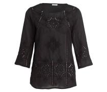 Tunika-Bluse - schwarz