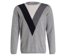 Pullover aus Merinowolle/Cashmere-Gemisch