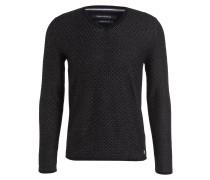 Pullover - schwarz/ dunkelgrau