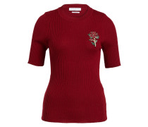 Strickshirt - bordeaux