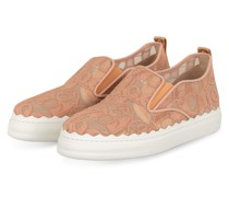 Slip-on-Sneaker - 26C Pink Tea