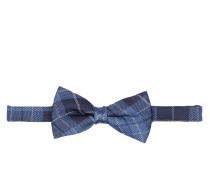 Fliege - blau/ marine/ grau