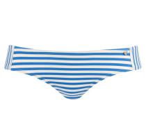 Bikini-Hose - blau/ weiss