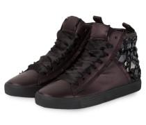 Hightop-Sneaker TOWN mit Schmucksteinbesatz