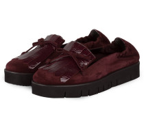 Plateau-Slipper MALU - bordeaux
