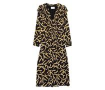 Kleid CANDICE mit Rüschenbesatz