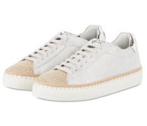 Sneaker PANAREA - silber/ braun