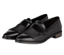 Loafer mit Fransen - schwarz