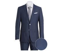 Anzug HUTSON4/GANDER1 Slim-Fit mit Einstecktuch