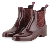 Gummi-Boots SARDENHA - weinrot
