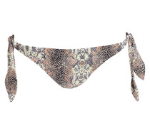 Bikini-Hose IN THE WILD - braun/ grün