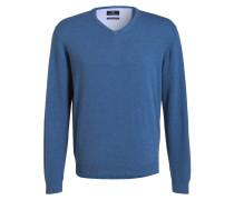 Pullover - mittelblau