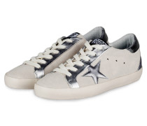 Sneaker SUPERSTAR - silber/ weiss