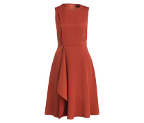 Kleid WINNI - orangerot