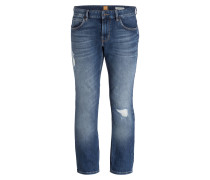 Destroyed-Jeans ORANGE63 Slim-Fit
