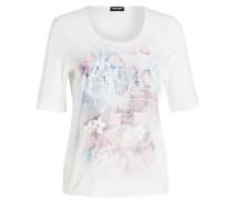 T-Shirt - ecru/ rosa/ blau