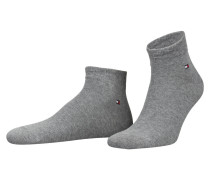 2er-Pack Sneakersocken - anthrazit