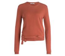 Cashmere-Pullover - terracotta