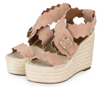 Wedges LAUREN - MAPLE PINK