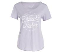 T-Shirt - lavender meliert