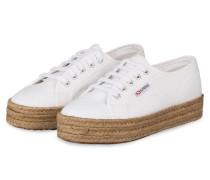 Plateau-Sneaker 2730 COTROPEW - WEISS