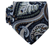 Krawatte - blau/ hellblau/ hellbraun