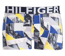 Boxershorts BOLD - grau/ blau/ gelb