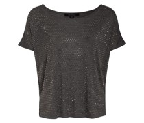 T-Shirt HELENE mit Nietenbesatz