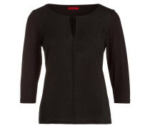 Shirt DIFELA mit 3/4-Arm - schwarz
