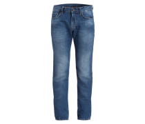 Jeans MITCH Modern-Fit mit Leinenanteil