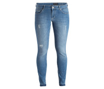 Skinny-Jeans - blue emotions wash