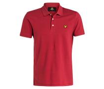 Piqué-Poloshirt - bordeaux