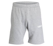Sweat-Shorts - hellgrau meliert