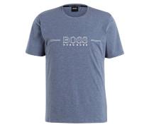 Loungeshirt URBAN - blaugrau meliert