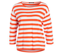 Pullover mit 3/4-Arm - orange
