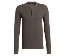 Henley-Shirt Level Five body fit - oliv