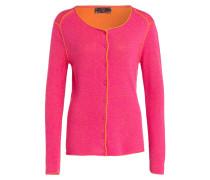 Cardigan - pink/ orange