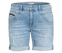 Jeans-Shorts CAMILLA mit Nietenbesatz