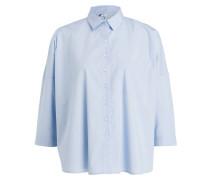 Oversized-Bluse OMA - hellblau