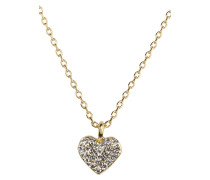 Kette A LITTLE BIT OF SPARKLE HEART - gold