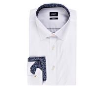 Hemd PIERRE-P Slim-Fit mit Einstecktuch