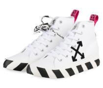 Hightop-Sneaker - WEISS/ SCHWARZ