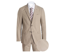 Anzug DROP 8 Slim-Fit - beige