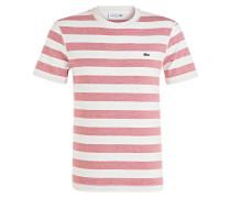 T-Shirt - weiss/ rot gestreift
