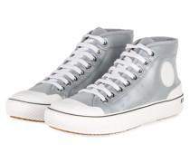 Hightop-Sneaker - SILBER/ WEISS