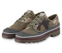 Sneaker - oliv/ braun