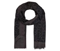Schal - schwarz/ braun