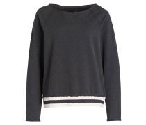 Sweatshirt - anthrazit meliert