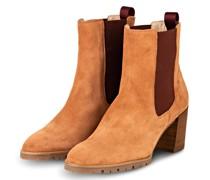 Chelsea-Boots - HELLORANGE