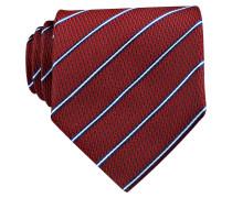 Krawatte - dunkelrot